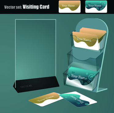 presentation of labels design vector set