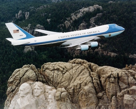 president machine aircraft air force one