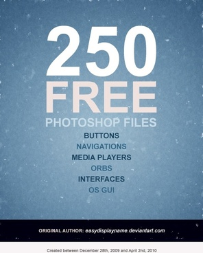 pretty comprehensive set of web design elements button 250 psd files 3