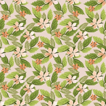 pretty flower background vector 1