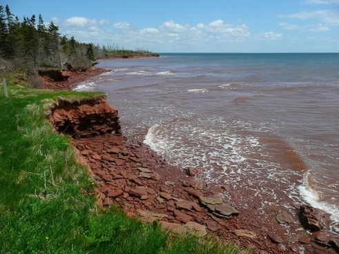 prince edward island canada shoreline