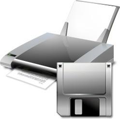 Printer floppy