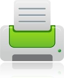 Printer green