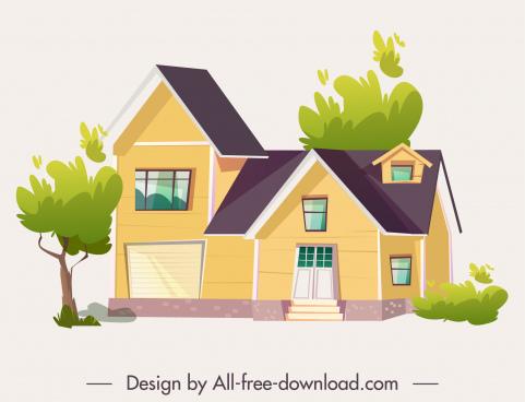 private house exterior template elegant modern decor