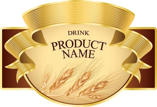 product label design 02 vector