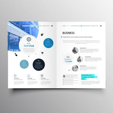 professional company brochure template