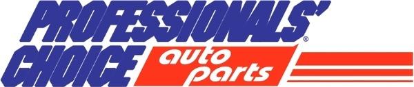 professionals choice auto parts