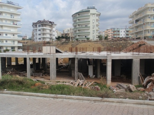 project carried out holiday house-building turkey real estate