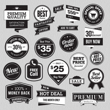 promotional deals tag for