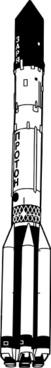 Proton Rocket clip art