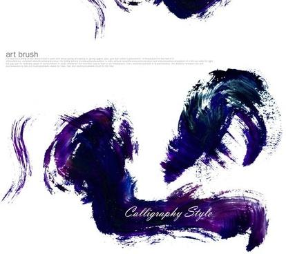 psd brush ink mj005