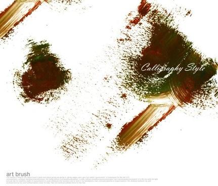 psd brush ink mj007
