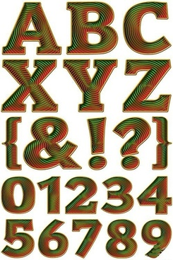 psd layered the spiral of digits and letters