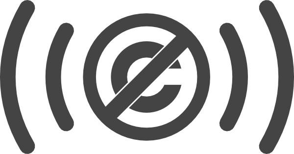 Public Domain Audio Symbol clip art