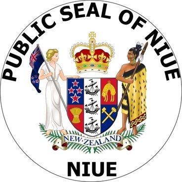 Public Seal Of Nieu clip art