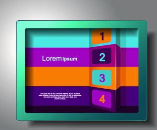 publicize business templates background vector