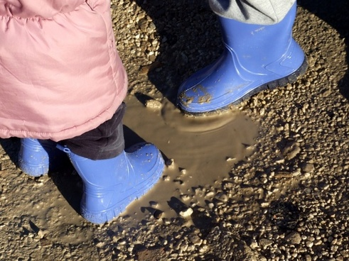 puddle boots child