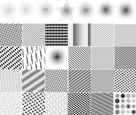 punctate pattern background