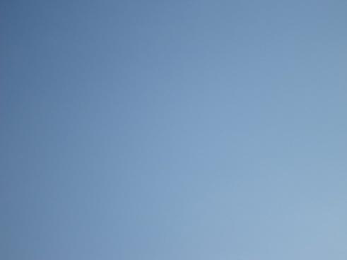pure blue sky