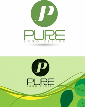 pure product logotype text shape decor