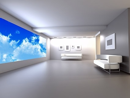 pure white indoor picture