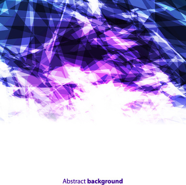 purple and blue geometric shapes background