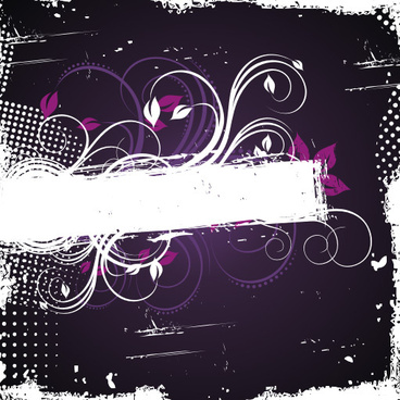 purple frame vector graphic
