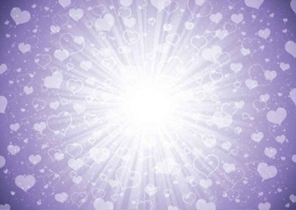 purple love background vector
