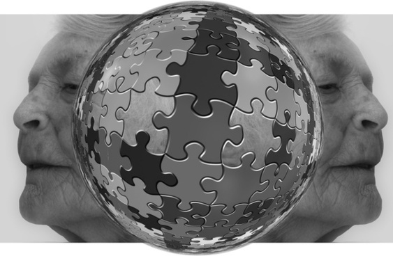 puzzle think woman