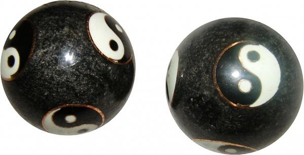 qigong balls yinyang