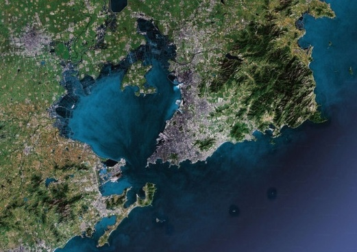 qingdao map highdefinition picture