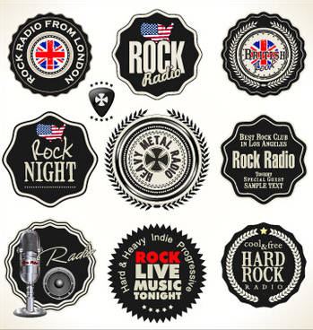 quality label with badge vintage style vector