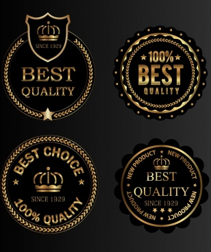 quality stamp templates luxury golden decor