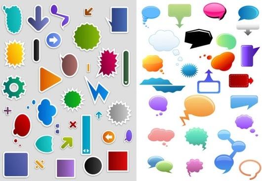 qvector dialogue bubble sign