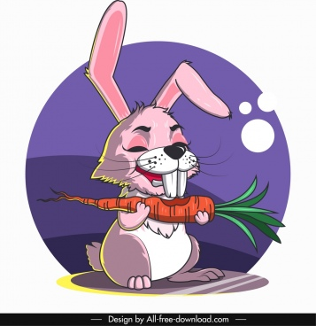 rabbit avatar cute cartoon character sketch