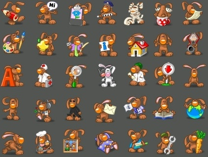 Rabbit Icons icons pack