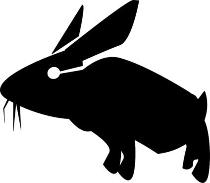 Rabbit Stencil