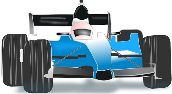 race car blue