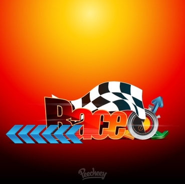 racing concept poster
