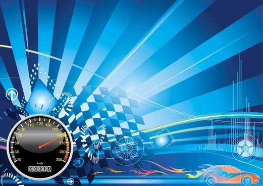 Background Car Race Free Vector Download 52 245 Free Vector For