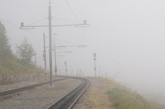 rack railway railway tracks seemed