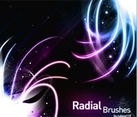Radial Brushes