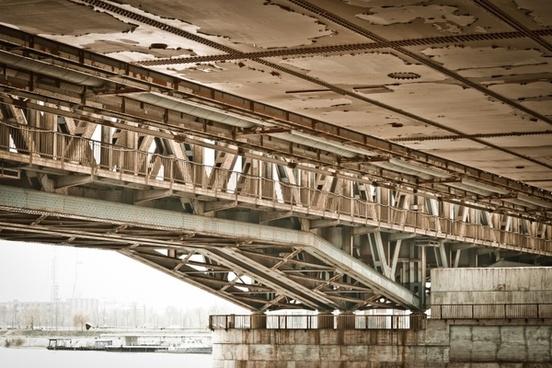 rail bridge river