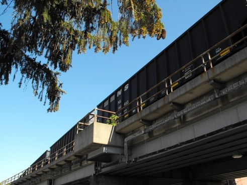 rail cars loaded