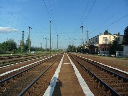 rail train tracks