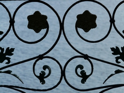 railing ornament iron
