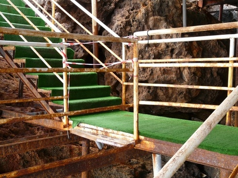 railing rise stairs