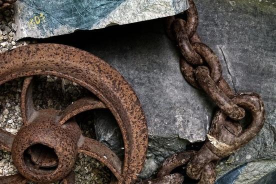 railroad iron tire chain