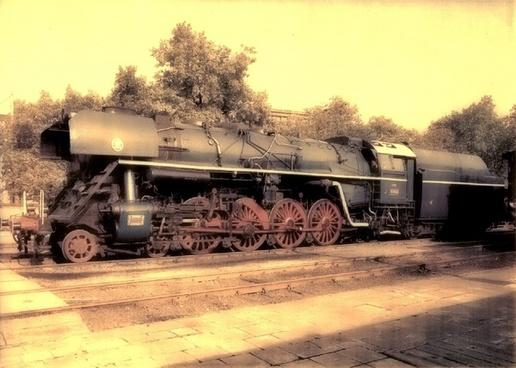 railway loco kokomotive