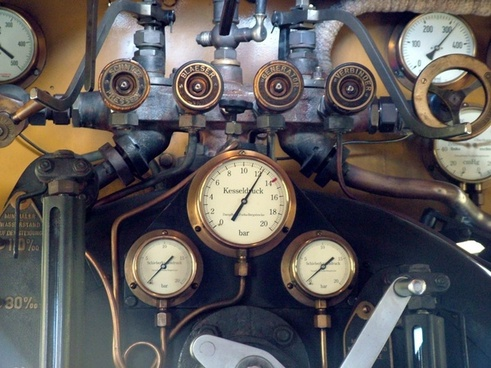 railway locomotive historically